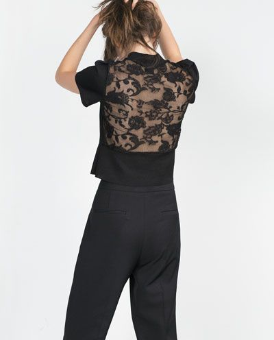 Image 4 of HIGH NECK TOP from Zara