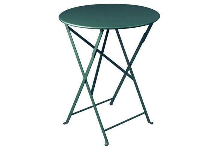 A sleek shape in a fresh dark green hue.