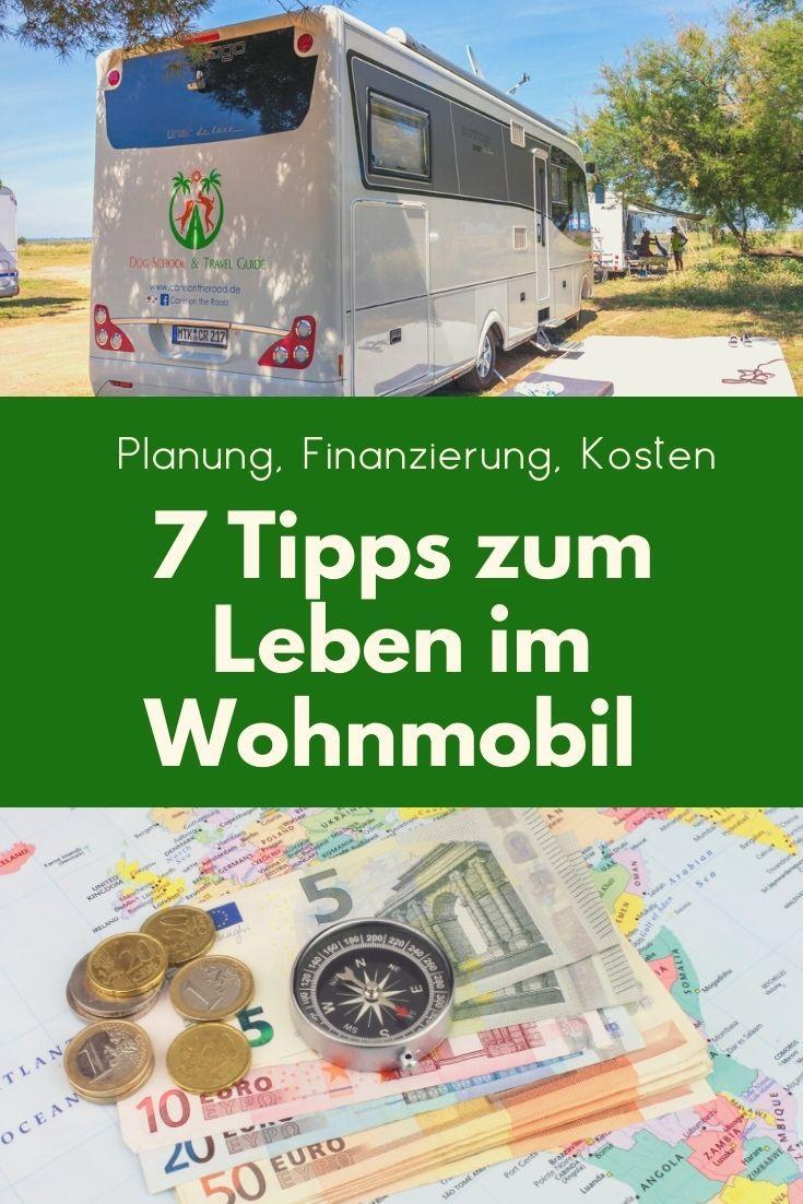 10 Tipps zum Leben im Wohnmobil - Planung, Finanzierung, Kosten