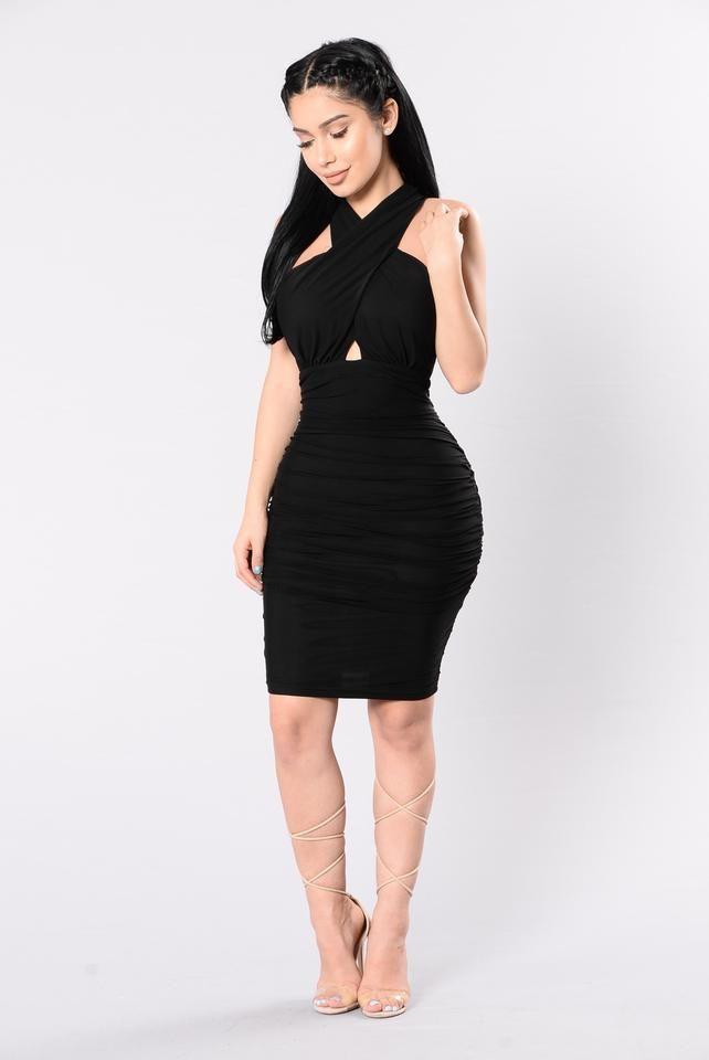 Love Always Dress - Black