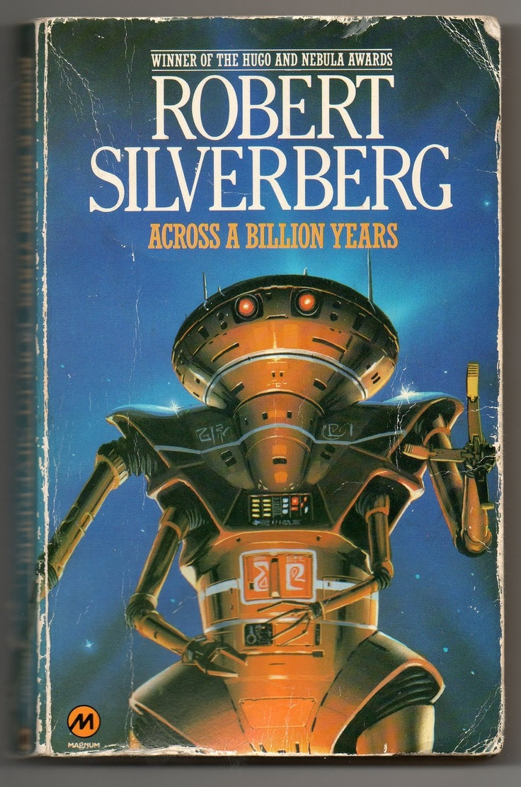 Vintage Cover Of Robert Silverberg's