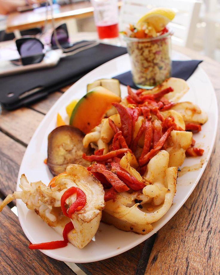 S E I C H E  . ForEver  Passion seiche et chorizo  LE J  restaurant de Plage à l'année  Carnon (34)  Bientôt Article sur le blog  _______________ #lejcarnon #restaurant #food #foodlover #blogfood #foodporn #foodstagram #gastronomy #cooking #foodphotography #montpellier #carnon #pintademontpellier