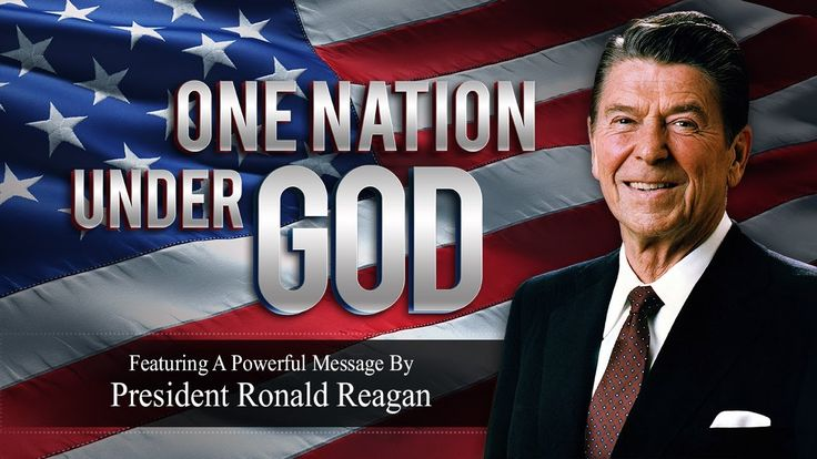 I firmly believe that this President completely understood what it it meant to be an American! RONALD REAGAN | One Nation Under God