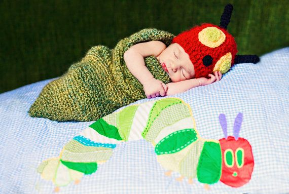 The Very Hungry Caterpiller by gammysangelwear on Etsy, $45.00