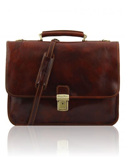 TORINO TL10029 Leather briefcase 2 compartments