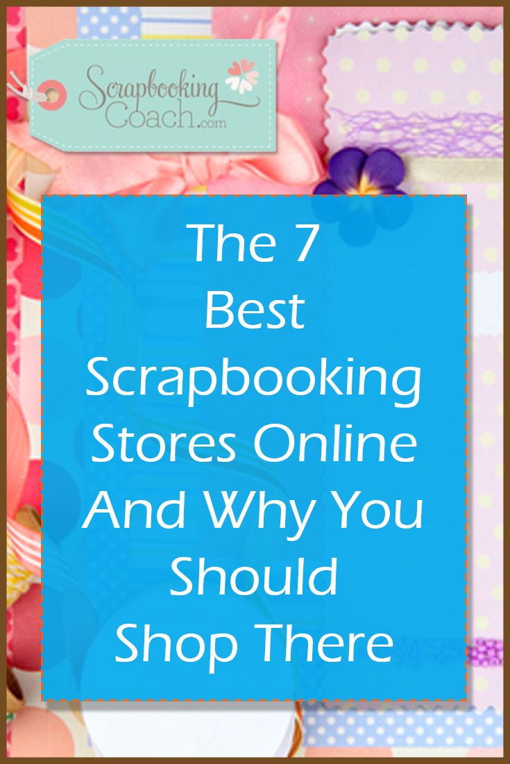 You can still find cheap scrapbook supplies by looking in the right places. Discover the 7 best scrapbooking stores that you should be shopping at! More