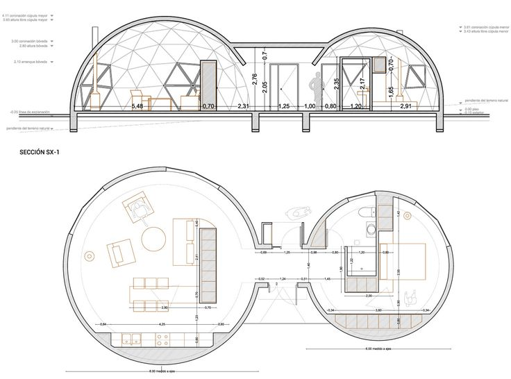 729 best DOMOS images on Pinterest | Geodesic dome, Dome house and ...