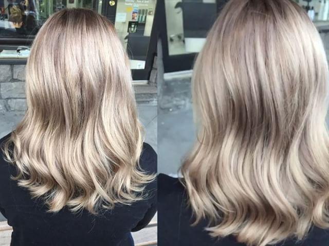 Gorgeous refreshed creamy pearl ash blonde for our lovely client Jess ️styled using @cloudnineoz waving wand! ️Thankyou @olaplexau @olaplex for taking amazing care of our blondes! ❤️❤️#classycutshampton #olapexmelbourne #olaplexau #olaplex #melbournehairdresser #melbournehairsalon #blonde #blondehair #beigeblonde #pearlblonde #goldenblonde #blondebalayage #wavyhair #guytang #wavyhair #silverhair #hairtransformation #colorcorrection #hairmiracle #rootyblonde #melbournehair