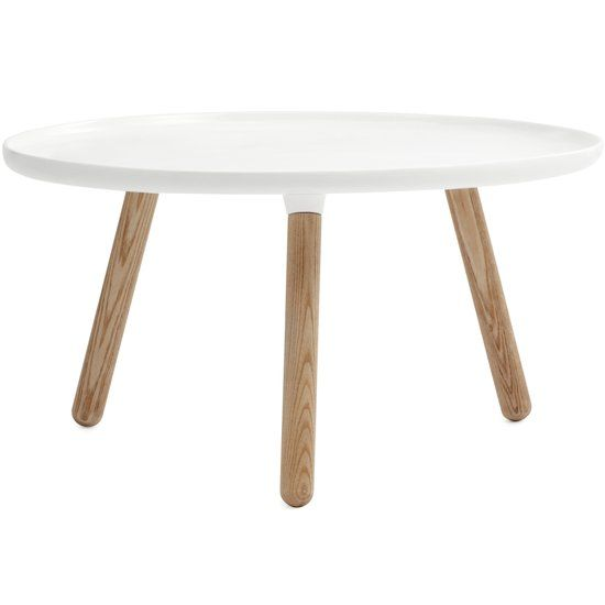 Normann Copenhagen Tablo - Salontafel - Wit