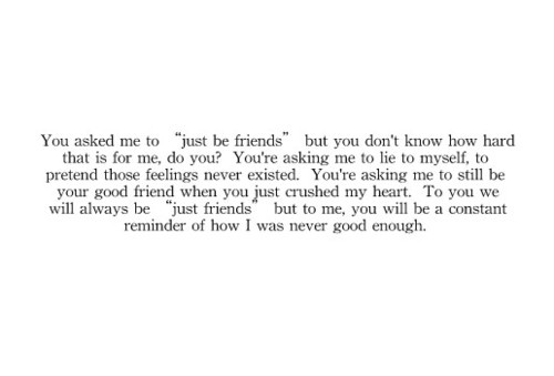 friend zone... I've never looked at it this way. I'll keep this in mind for next time.