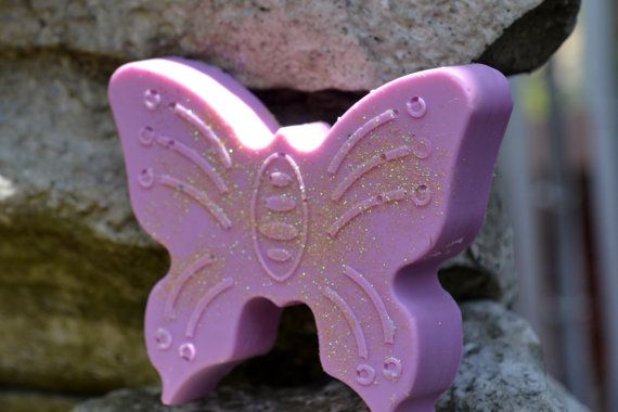 Butterfly Beauty  Summer Soap  Soap for Her  Vegan by ajsweetsoap, $6.50