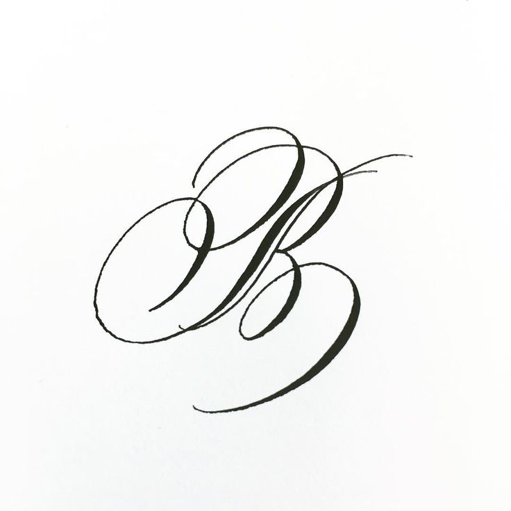 Day 2 Letter B And Continuing On With This Decorated Style Abcs B Handletteredabcs 2018 Handletteredabcs Le Lettering Alphabet Lettering Fonts Letter B