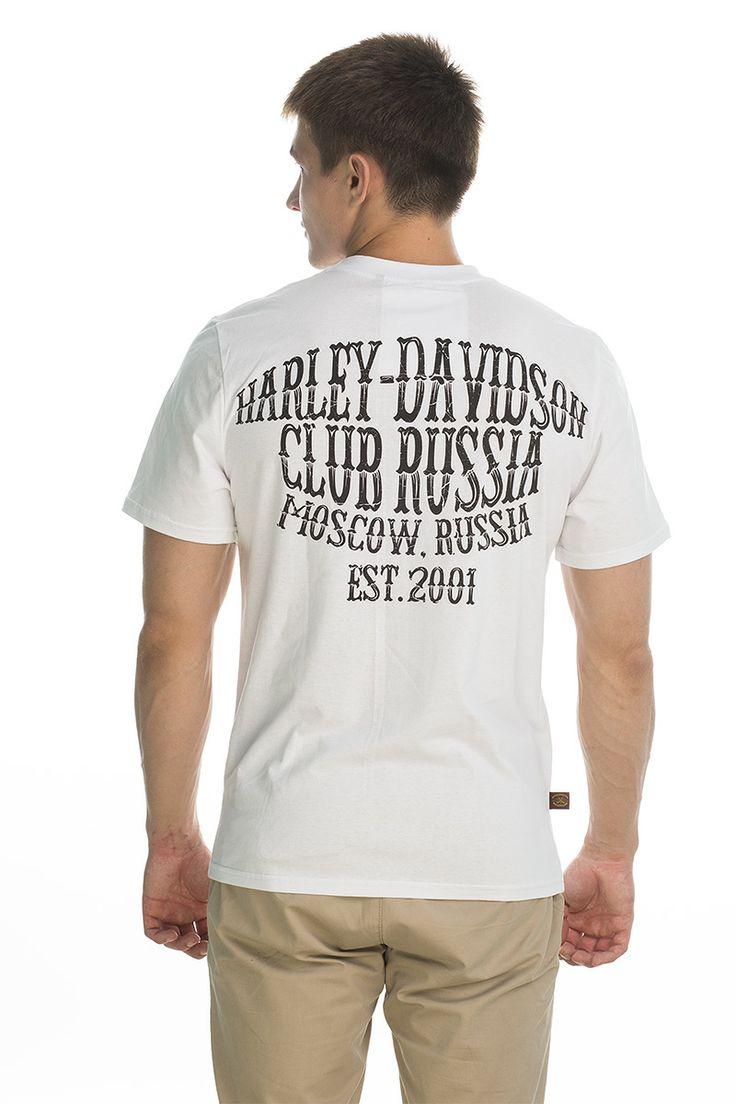 T-shirt Original; white/black print.