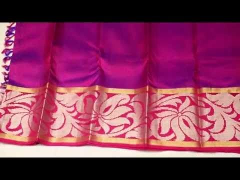 violet bridal silk saree - SS3C8A9478 - Wedding Silk Sarees