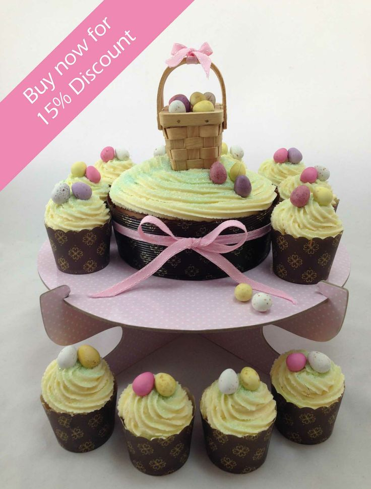EASTER EARLY BIRD SPECIAL...15% off all our fun & delicious Easter DIY cupcake kits. Each kit includes everything you need to create Easter magic like cake & cupcake cases, gourmet cake mix, icing mixture, ribbon & decorations, mini chocolate Easter eggs, coloured sugar sprinkles, display stand & decorating tool kit. Delivered direct to you...from just $30.95 click here http://www.icingonthecakekits.com/catalog.php