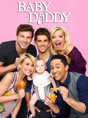 Baby Daddy, is a half-hour series about Ben (Jean-Luc Bilodeau, Kyle XY) who, in his 20s, becomes a surprise dad to a baby girl when she's left on his doorstep by an ex-girlfriend. Ben decides to raise the baby with the help of his mother Bonnie (Melissa Peterman), his brother Danny (Derek Theler), his best buddy Tucker (Tahj Mowry) and his close female friend, Riley (Chelsea Kane), who is harboring a secret crush on him.
