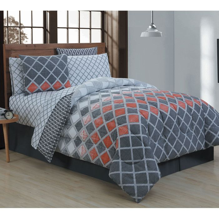 You'll love the Keisha Comforter Set at AllModern - With Great Deals on modern Bedroom  products and Free Shipping on most stuff, even the big stuff.
