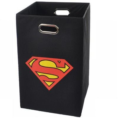17 best ideas about superman logo on pinterest superman superman logo art and templates - Superhero laundry hamper ...