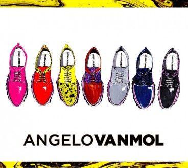 Angelo Van Mol illustration by Eleanor Rose, fashion illustrator