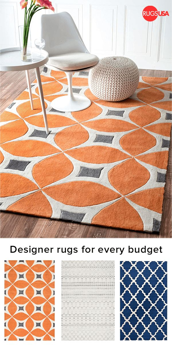 Give your room a hint of personality with a beautiful designer rug. Visit Rugs USA for 1000s of amazing colors, styles + textures -- including animal print, bohemian, braided, coastal, modern, animal hides, jute & sisal, kids, outdoor, shag, southwest, traditional, vintage on a budget!