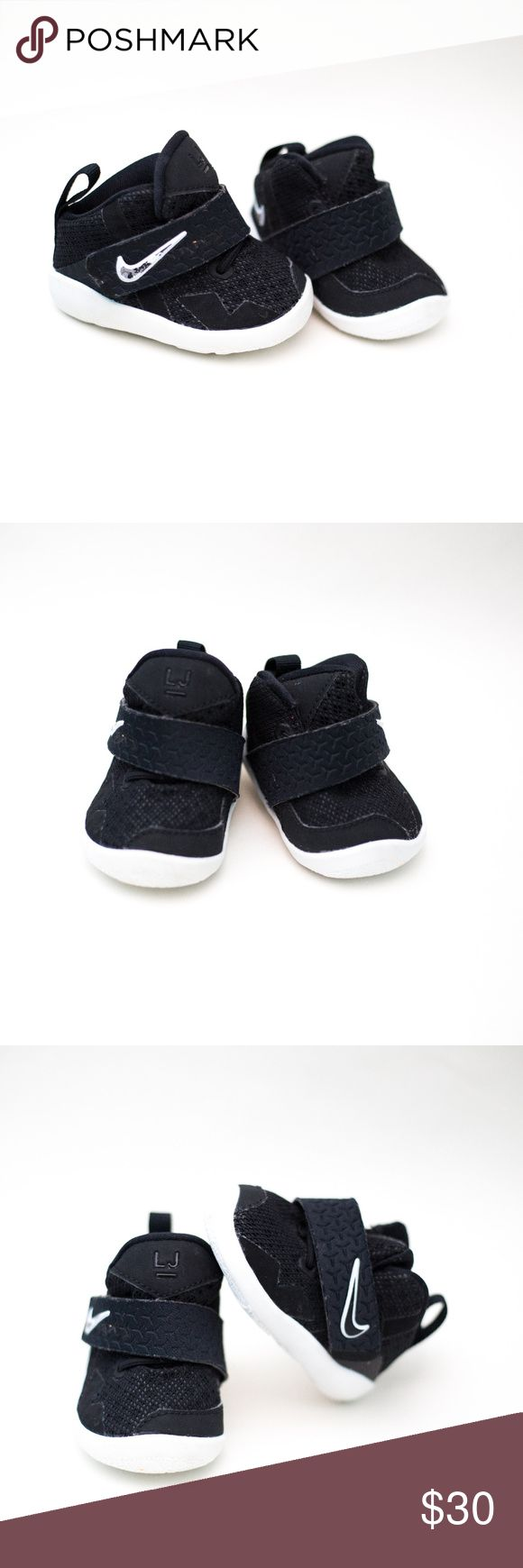 Infant Lebron James Black and white Lebron James sneakers Nike Shoes Sneakers