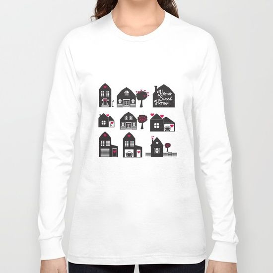 Home Sweet Home. Dreams and Memories. Long Sleeve T-shirt