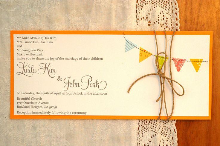 handmade | washi tape wedding fun - auch als Geburtstagseinladung!!!
