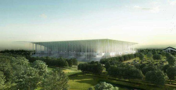Herzog & de Meuron's 'Grand Stade de Bordeaux'
