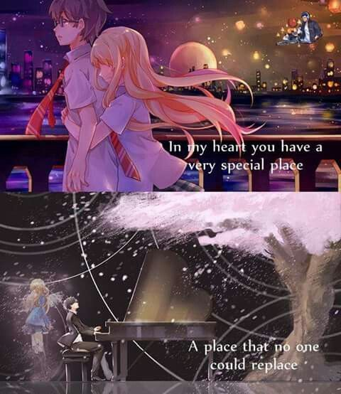 T_T Anime:Your lie in april