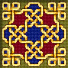 Gobelin: Eastern Endless Knotwork (by Stoyanka Ivanova) - free download.