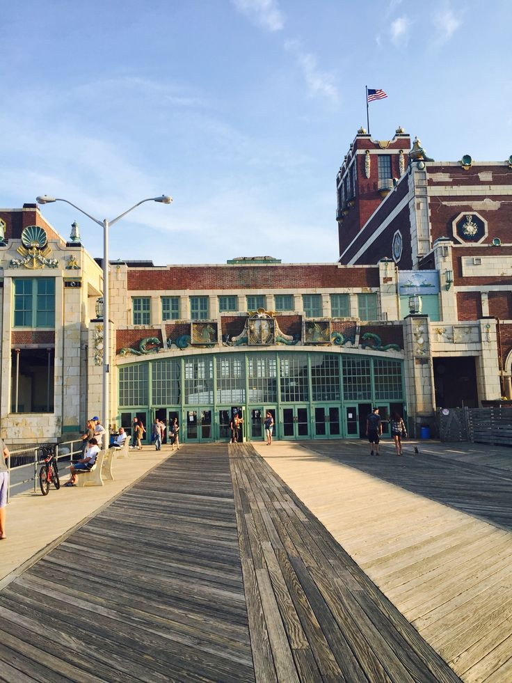 City Of Asbury Park, NJ: Historic Convention Hall
