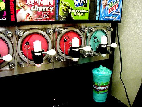 I could so go for a slurpee right now!