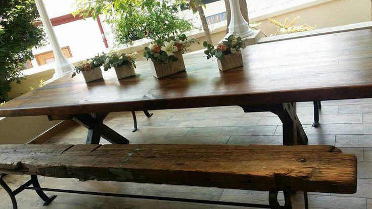 We also make benches