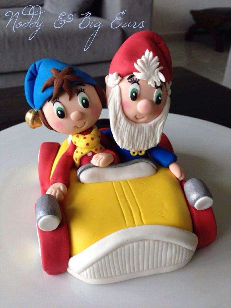 Noddy cake topper