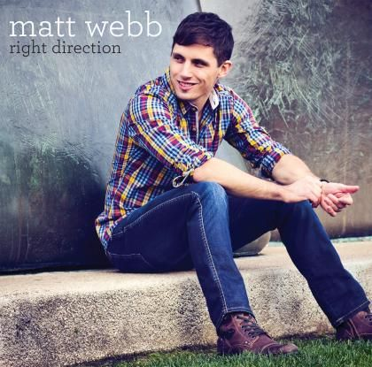 """So excited for this EP to come out Feb 4th! """"Right Direction"""" by Matt Webb. It's going to be epic!!!"""