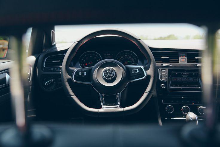 2015 Volkswagen Golf GTI interior - new whip