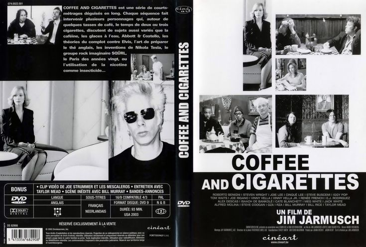 Jaquette DVD Coffee and cigarettes v2