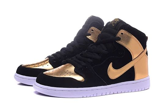 Nike Dunk High SB Black Gold - $60.95