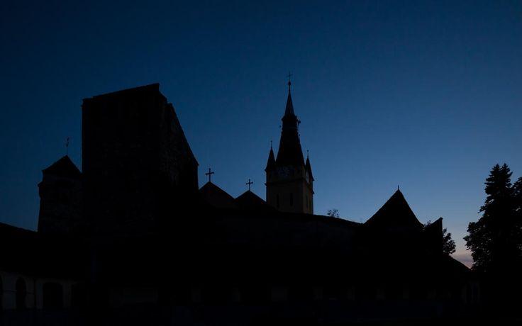 Ralf Martini :: Romania Cristian (Neustadt) Church at Sunset