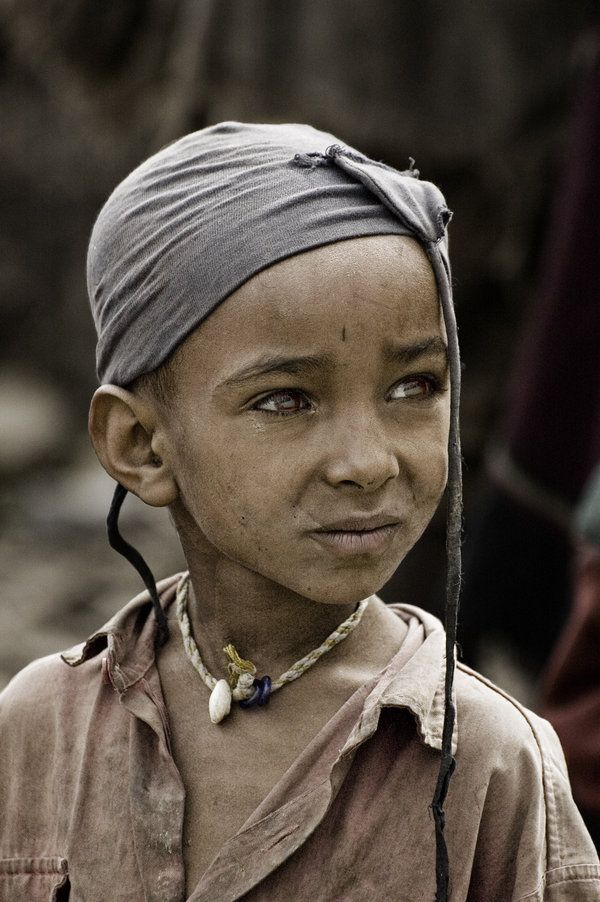 Child from the Tigray tribe in Ethiopia --- photo credit:  Tenbult