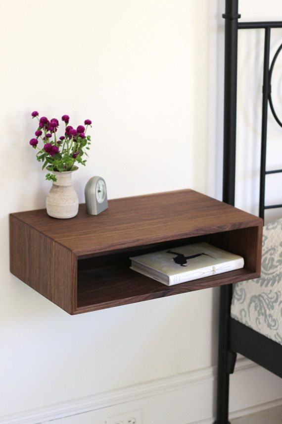Best 25 modern bedside table ideas on pinterest night for Floating nightstand