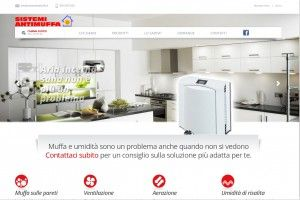 Sistemi Antimuffa www.sistemiantimuffa.it Realizzazione siti web professionali, progetti e-commerce, web marketing e gestione social