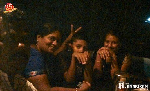 Happy family enjoying Thopi Dosa at Srijanakiram Hotels #Rooftop_Restaurant ! Thank you Amalraj Ilango for sharing your happy moments with us!