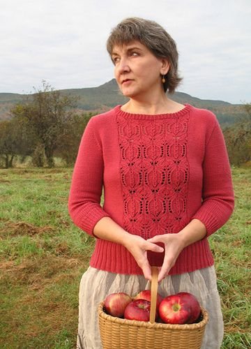 156 best knitting pullovers long sleeves images on pinterest pomegranate pattern by bonnie sennott fandeluxe Choice Image