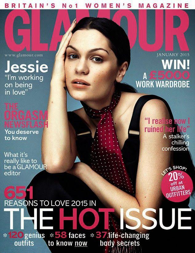 Jessie J for GLAMOUR UK, january 2015