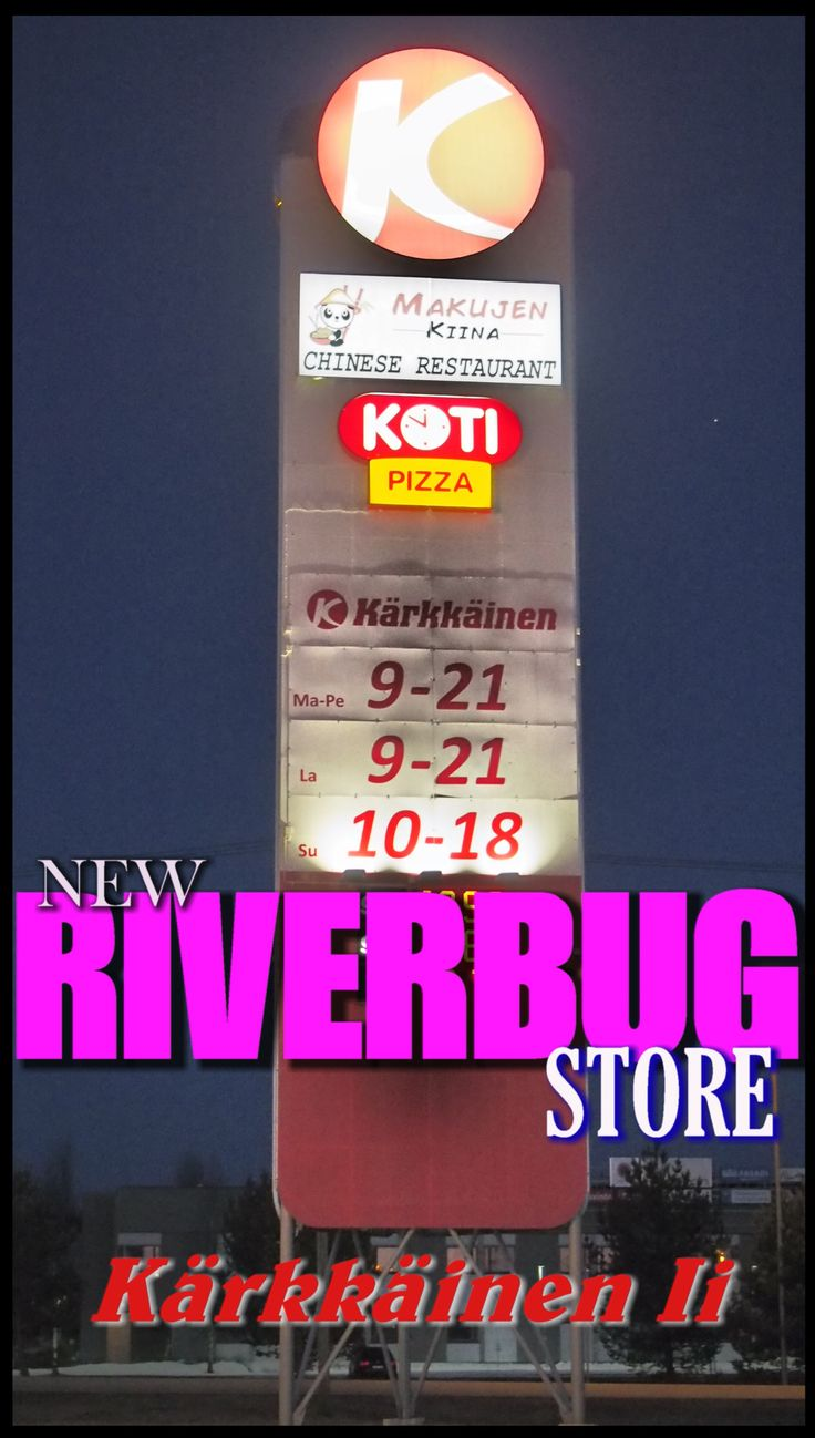 RiverBug retail store in City of Ii, Finland. #kärkkäinen #fishing #retail #fly fishing #fly #riverbug #tube fly #perho #perhokalastus #perhonsidonta #putkiperho #kalastus www.riverbug.fi