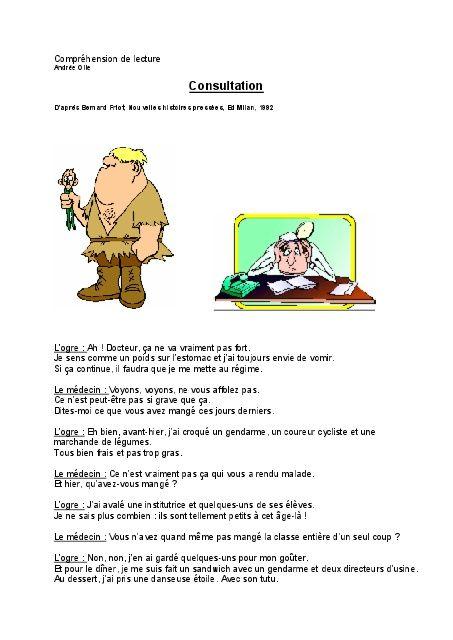 Compréhension de lecture Consultation - Professeur Phifix https://www.yumpu.com/fr/document/view/25509241/comprachension-de-lecture-consultation-professeur-phifix