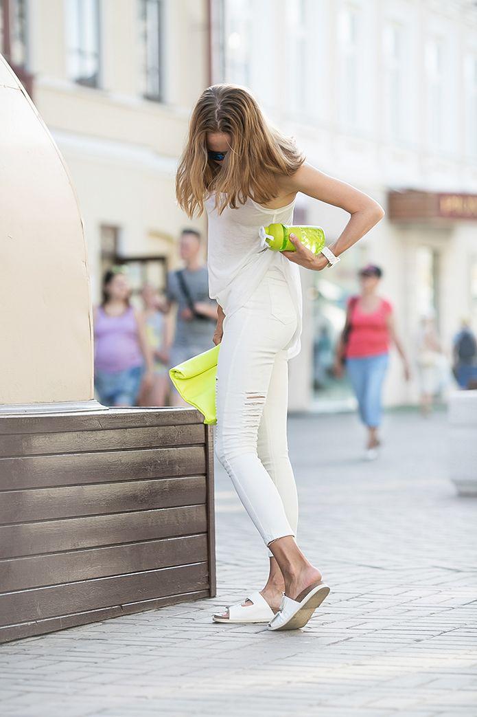 .: Белые джинсы и 7 понедельничных напутствий