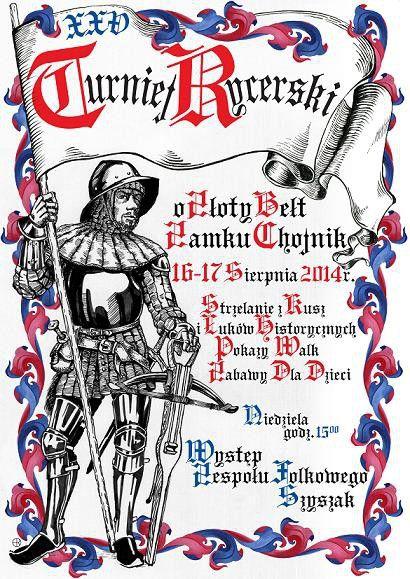 Turnaj na hradě Chojník 2014