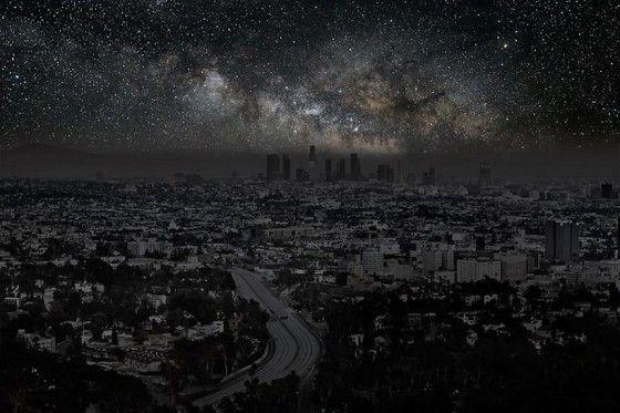 Pollutions nocturnes par Thierry Cohen